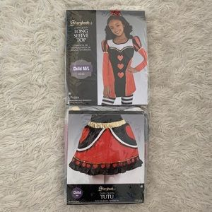 ~NEW Queen of Hearts Child Costume Set